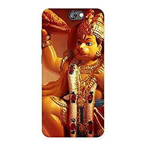 Special Lord Hanuman Multicolor Back Case Cover for HTC One A9