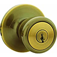 Steel Pro Entry Lockset-AB CP TULIP ENTRY LOCK