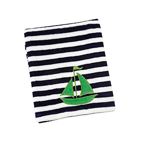 Sadie & Scout - Sailboat Baby Blanket - 1