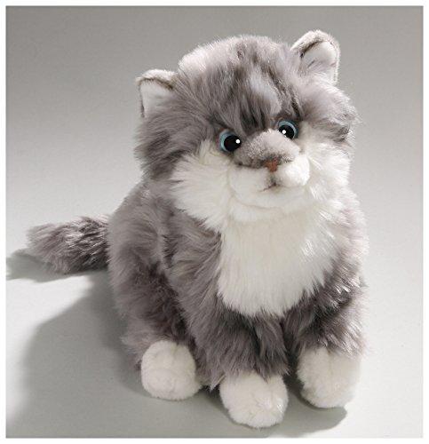 Katze grau aus Plüsch ca. 27cm von Carl Dick
