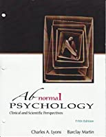 Abnormal Psychology - Clinical and Scientific Perspectives (Loose Leaf)