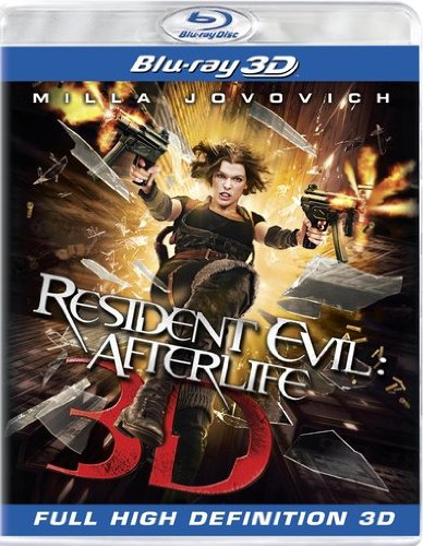 Blu-ray 3D : Resident Evil: Afterlife [Widescreen] [3D] (, Dubbed, Dolby, AC-3, 3 Dimensional)