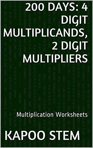 200 Multiplication Worksheets