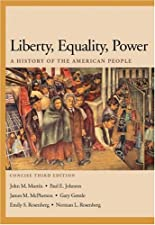 Liberty Equality Power A History of the American People Concise by John M. Murrin