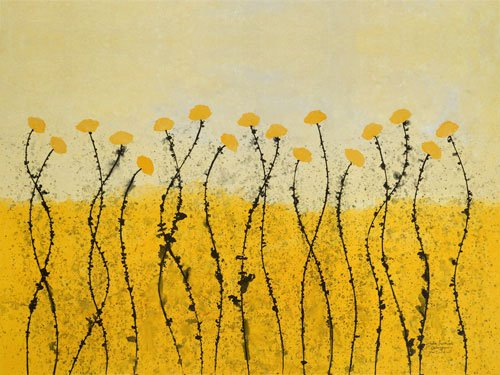 Fields of Gold Canvas Reproduction