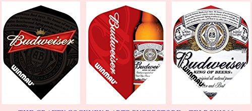 trois-jeux-de-winmau-budweiser-dart-vols-de-haute-qualite-x-3-differents-designs