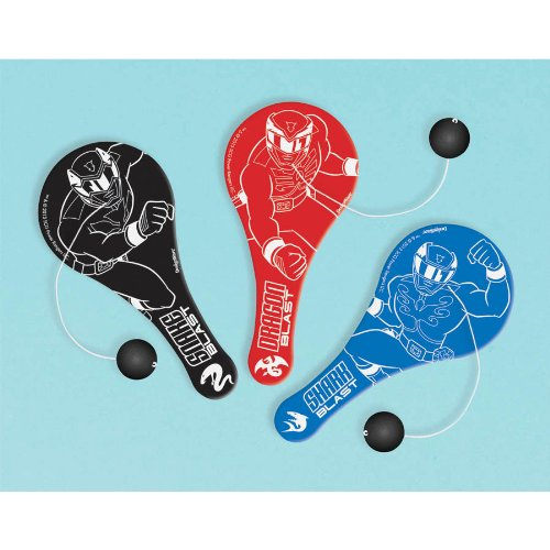 Power Rangers Paddle Ball Favors (12 Pack)