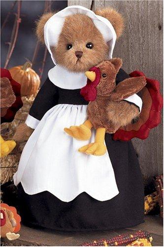 Bearington Thanksgiving Pilgrim Bear & Turkey