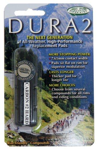 Buy Low Price Kool Stop Dura 2 Carbon No.2 Hard Insert (KS-DR2CF2)