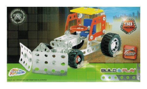 Metal Tech - Metal Construction Toys - Bulldozer
