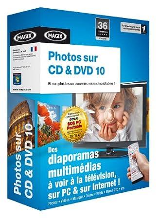 Photos sur CD & DVD 10