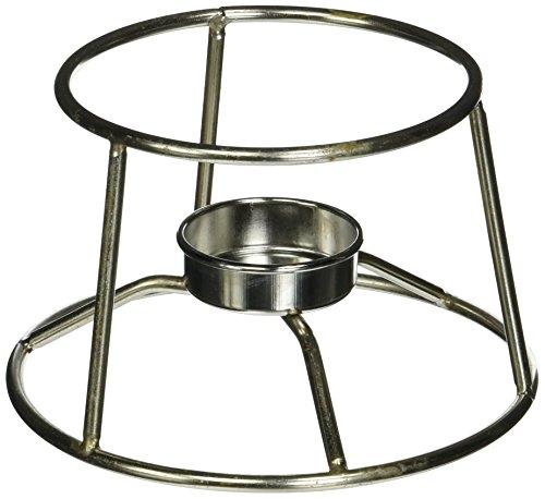 American Metalcraft CIFDR Cast Iron Fondue Pot and Stand, 4.95