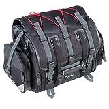【Amazon.co.jp限定】タナックス(TANAX) フィールドシートバッグ [39⇔59リットル] 合皮ブラック/レッド MFK-101R