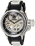 Invicta Herren-Armbanduhr XL Analog Handaufzug Kautschuk 1088