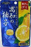 扇雀飴 贅沢なグミ 高知の柚子 40g×6袋