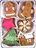 Christmas Gingerbread Organic Cookies, 24 Cookies