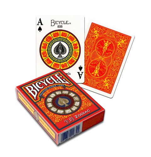 MMS Cards Bicycle Zodiac by USPCC Trick - 1
