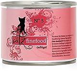 Catz finefood Katzenfutter No.3 Geflügel 200g
