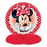 3 Minnie Mouse Honeycomb Table Centerpieces