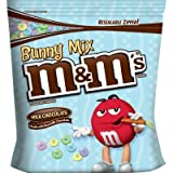 Bunny Mix M&M's Milk Chocolate Candies Jumbo Size Bag 56 oz 1587g