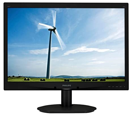 "Philips 240S4LPSB/00 Ecran PC LED 24"" (60,96 cm) 1920x1200 5 ms DVI/VGA"