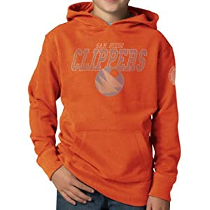 NBA Los Angeles Clippers Playball Hoodie Jacket, Carrot by