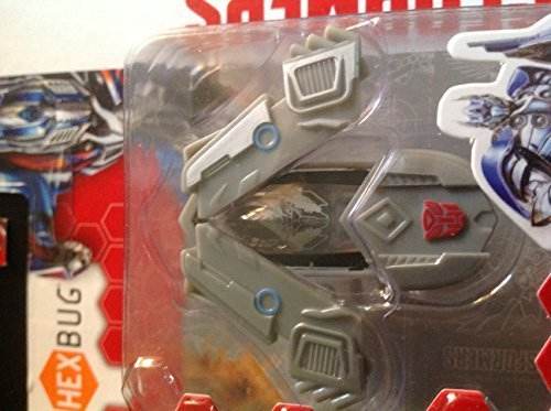 Hexbug Nano Transformers Silver Knight