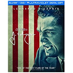 J. Edgar (Two-Disc Blu-ray/DVD Combo + UltraViolet Digital Copy)