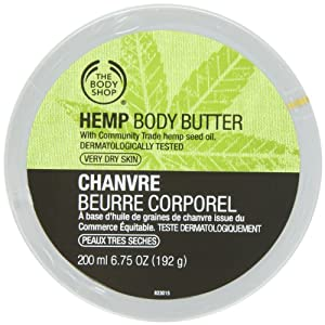 The Body Shop Body Butter, Hemp, 6.75 Ounce