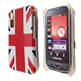Union Jack Hard Back Case Cover Shield For Samsung Tocco Lite S5230 British Flag From My Fone UK