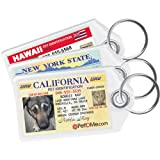Driver's License Pet ID Tags