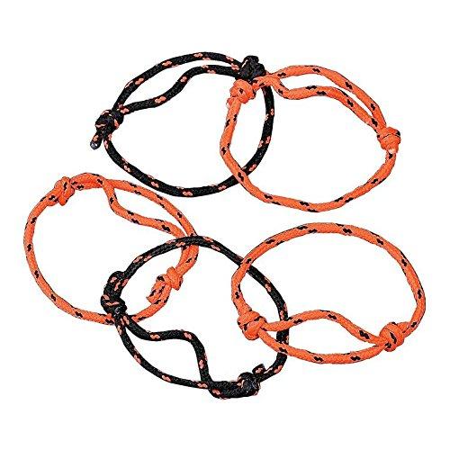 Halloween Friendship Rope Bracelets - 72 pcs
