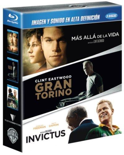 Mas Allá De La Vida + Gran Torino + Invictus [Blu-ray]