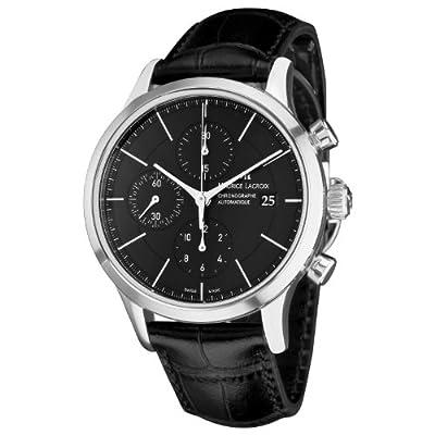 Maurice Lacroix Men's LC6058-SS001330 Les Classiqu Black Chronograph Dial Watch