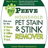 Best Pet Stain Remover & Odor Eliminator: Professional Industrial Strength Remover & Neutralizer of Urine Smell! Safe on Carpet, Litter Boxes and Upholstery! Easy Spray. Home, Office, Boat and Car Protected. Child Safe & No Animal Testing! Ironclad Guarant