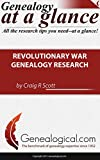 Genealogy at a Glance: Revolutionary War Genealogy Research