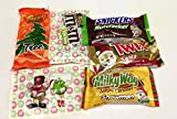 American sweets and candy combo, perfect gift for Christmas Reeses Snickers Milky Way M&Ms Twix