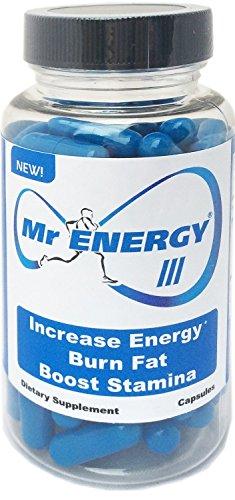 M. énergie III - 30 Capsules - Booster de l'énergie pilules exhausteurs de l'endurance de brûleurs de graisse - perdre du poids Boost énergétique meilleur régime de perte de poids naturel suppléments produits qui agissent rapidement pour les femmes et les