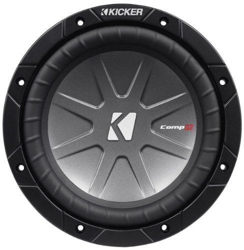 "Kicker 40Cwr84 8"" Compr8 800 Watts Peak/400 Watts Rms 4-Ohm Dvc Car Subwoofer"