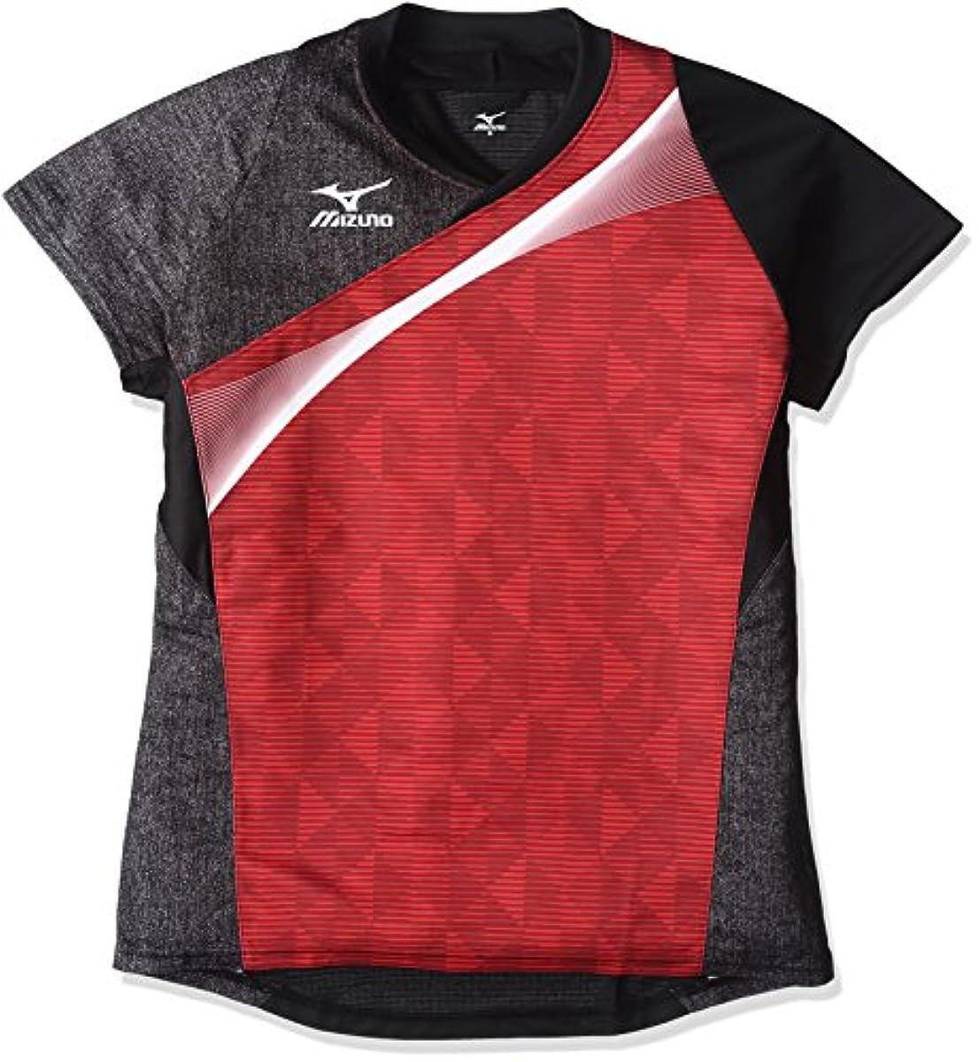 [해외] (미즈노)MIZUNO 탁구 웨어 게임 셔츠 82JA6501[유니]-82JA6501 (2016-06-22)