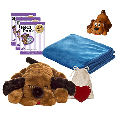 image Snuggle Pet Products Snuggle Puppies Starter Kit for Pets, Brown Mutt