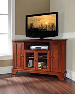 Crosley furniture lafayette 48 inch corner tv for W furniture lafayette la