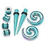 PiercingJ - 4 Paires Acrylique Boucle Clou d