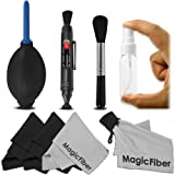 Professional Cleaning Kit for DSLR Cameras (Canon, Nikon, Pentax, Sony) - Includes: Lens Cleaning Pen System