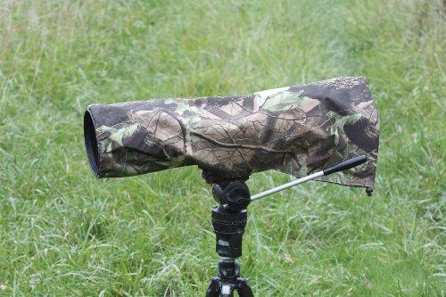Housse de pluie pour appareils et objectifs, Leaf Pattern, La taille standard, étanche.