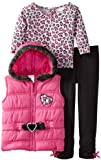 Little Lass Baby-Girls Infant 3 Piece Belted Hooded Puffy