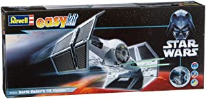 Revell easykit 06655 TIE Fighter - Maqueta de la nave espacial de Darth Vader de Star Wars