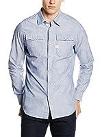G-Star Camisa Hombre Landoh (Azul)
