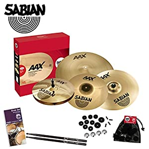 sabian aax praise worship pack cymbal kit pw1 includes sabian cymbal care kit. Black Bedroom Furniture Sets. Home Design Ideas