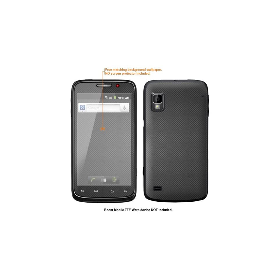 Protective Decal Skin Sticker for ZTE Warp  Boost Mobile version  case cover ZTEwarp 160